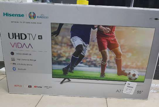 55 Hisense Frameless smart UHD 4K TV image 1