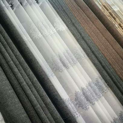 HIGH QUALITY PLAINS CURTAINS  AND SHEERS DIFFERENT COLOUR PER METER FROM 850 TO 1000 image 15