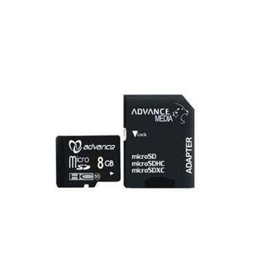 Advance 8GB - Memory Card + Adapter - Black image 1