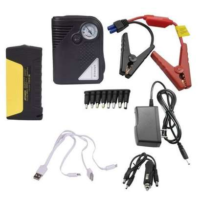 Portable Car Jump starter Kit with Tyre Infiltrator / Air Compressor