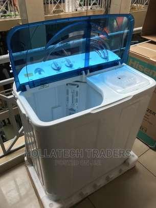 Tornado 12kg Top Load Washing Machine image 1
