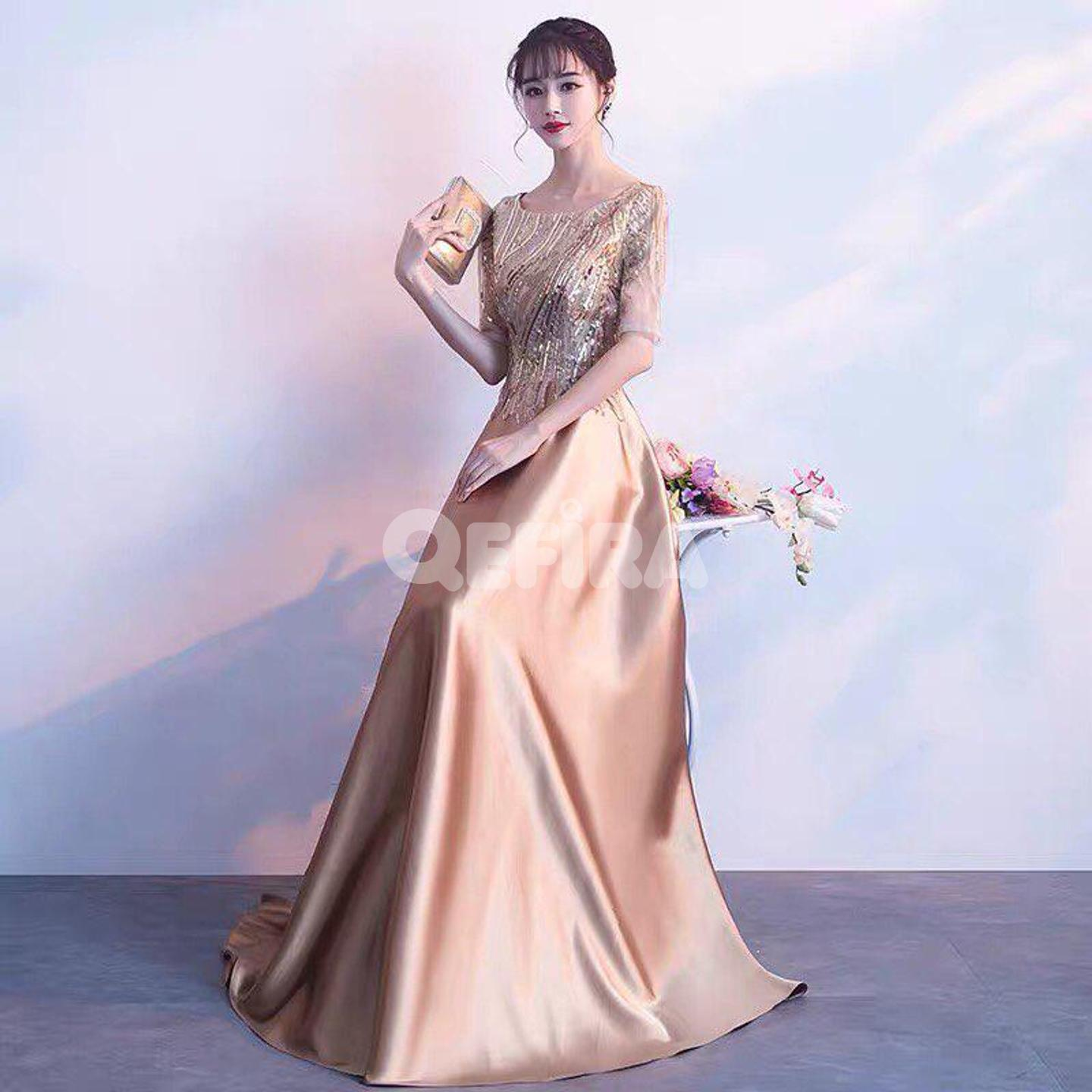 f622d540d7 Korean Style Party Dress
