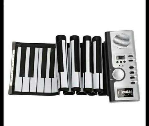 Flexible Roll up Piano Keyboard 61 Keys
