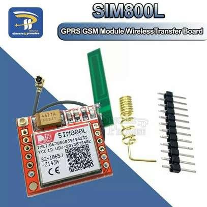 SIM800L GPRS GSM Module Kit, Micro SIM Card Core Board Quad-band TTL Serial Port With the Antenna