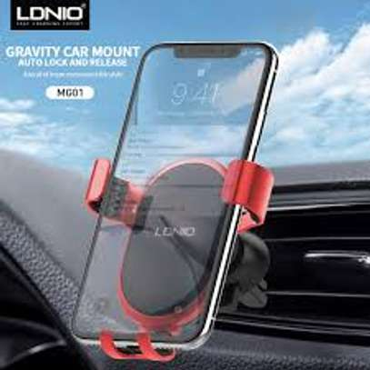 Ldnio Gravity Auto Lock Car Holder for Samsung / Apple image 1