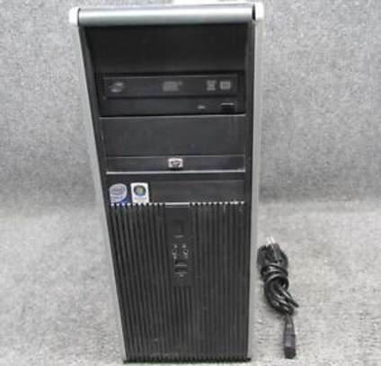 HP DESKTOP Compaq 7900 Tower Intel Core 2 Duo with graphics card image 1