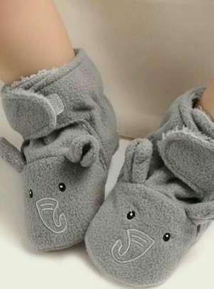 Grey New Fashion Kids Shoes