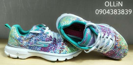 Sketchers Type(Colorful Cyan ) image 1