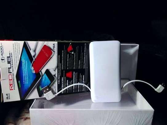 Red fuel orginal Power bank image 3