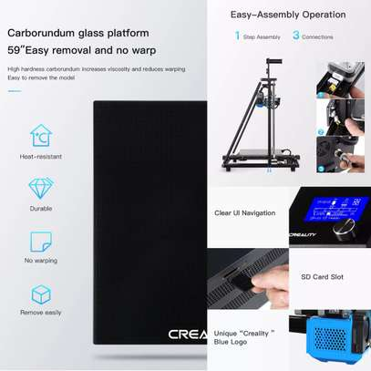 CREALITY CR-10 V3 3D Printer; Size 300*300*400mm, TMC2208 Silent Mainboard, Resume Printing, BL touch Optional image 7