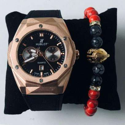 Hublot Watch + Bracelet