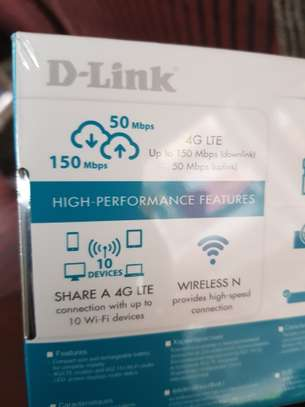 4G D-Link Wifi Router image 1
