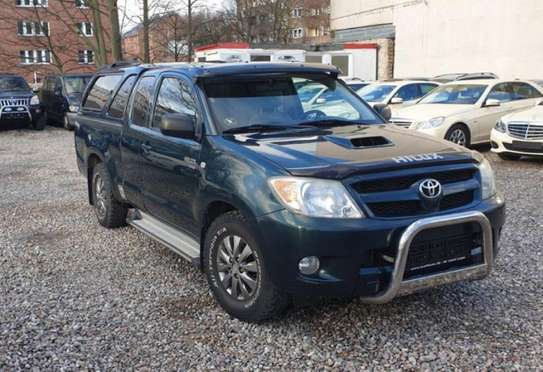 2008 Model-Toyota Hilux [ Extra Cab ]