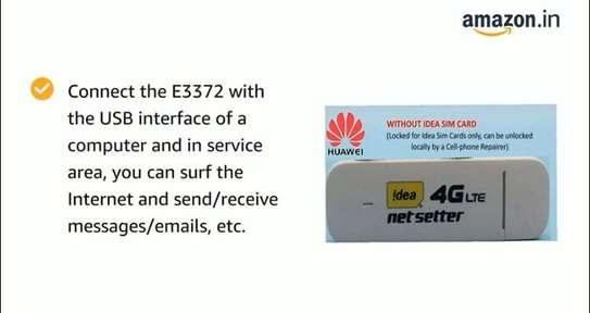 Huawei E3372 4G LTE Dongle image 3
