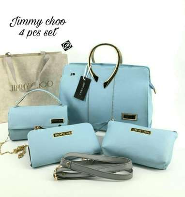 Jimmy Choo 4 Pcs Combo Set Bag