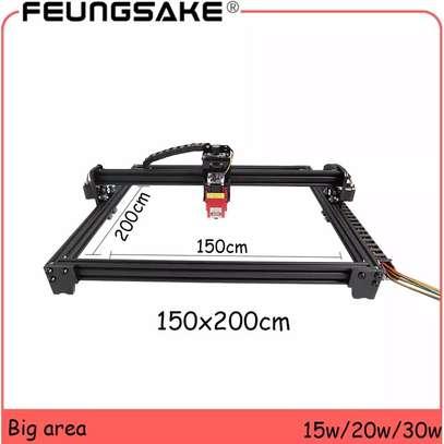FEUNGSAKE 200*150cm 15W/20W/30W Laser Engraving Machine image 1