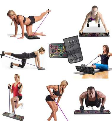 Multifunction Push-up Stands For GYM Body Training image 1