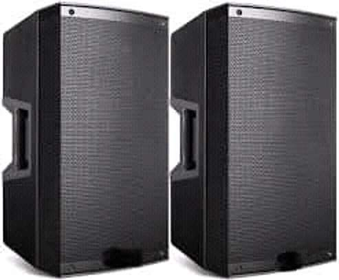 Speakers and Audio Systems Rental