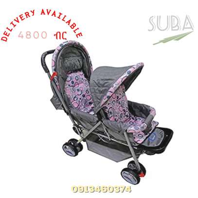 BABY STROLLER TWO SEATS ORIGINAL