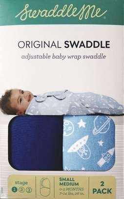 Adjustable Baby Wrap Swaddle image 1