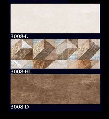 250*750 mm Glossy Ceramic Wall Tiles image 1