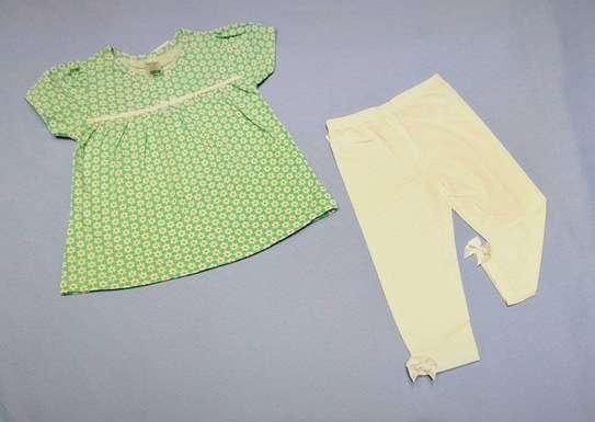 2Pcs Set Baby Cloth image 1