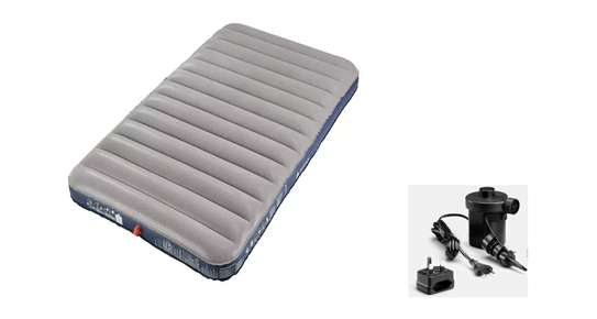 Air comfort 120 inflatable mattress with electric pump image 1