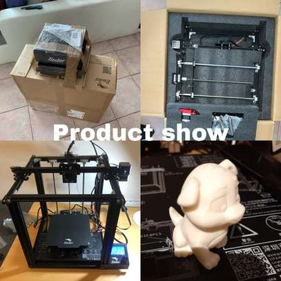 CREALITY Ender-5 Pro 3D Printer; Silent Board Pre-installed; Magnetic Build Plate; Power off Resume Printing; Enclosed Structure image 7