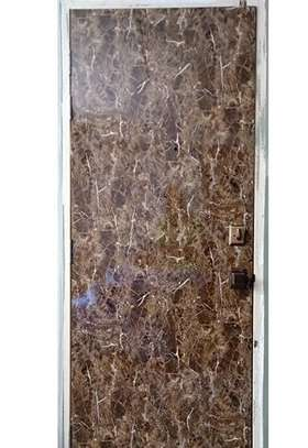 Brown Marble Laminate Door
