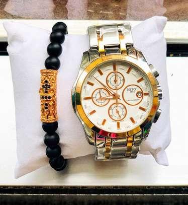 Tissots Watch With Bracelet