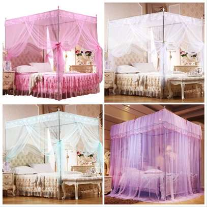 luxury Bed Canopy Dome Hanging Mosquito Net image 2