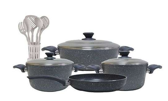 Regan in House 13-Piece Turkish Granite Cookware Set