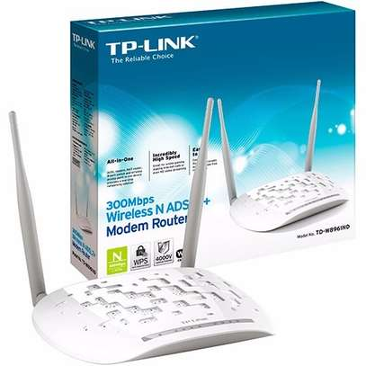 300Mbps wireless N ADSL2+ Modem Router image 1