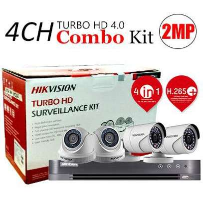 Hikvision Turbo 4 Channel Camera Kit