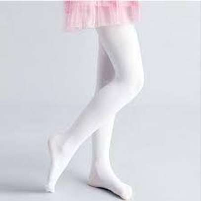 Kids White Stockings