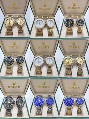 Rolex Couple Watch (Valentine Gift) image 1