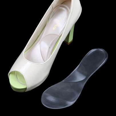 Transparent Female Insole -  Gel Shoes Orthopedic Insole, Foot and Heel, Pain Relief