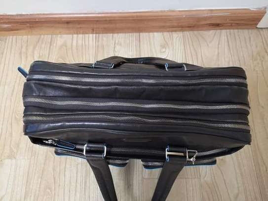 Piquadro Italian leather suitcase