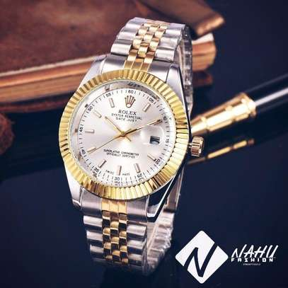 Rolex Golden Watch For Men