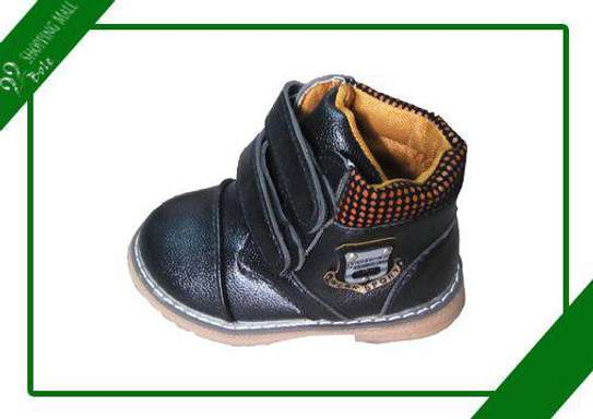 Black Boys Small Boots