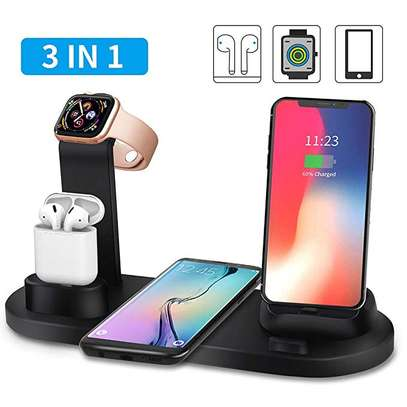Wireless fast charge (Three in one)
