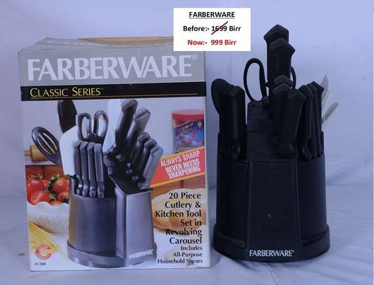 Farberware 20 piece Cutlery And Kitchen Tool Set