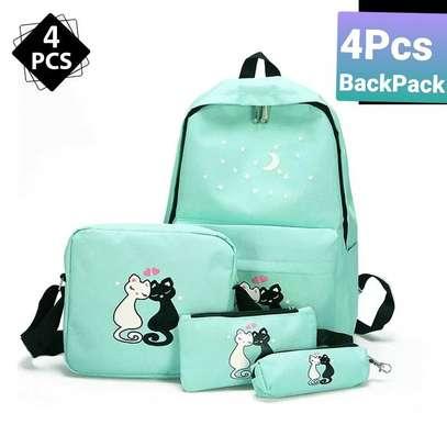 4pcs  Backpack image 4