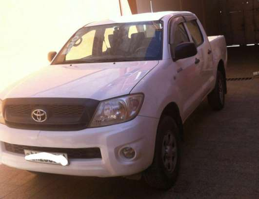 2009 Model Toyota Hilux Double Cab