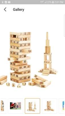 Wooden Blocks with Number
