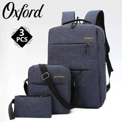 Backpack quality bag  3 pcs  price 1299 free delivery contact as image 3