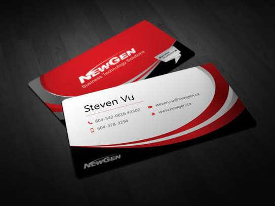 Business Card Design & Print image 2