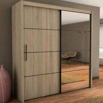 Wall Fixed Cupboard With Mirror