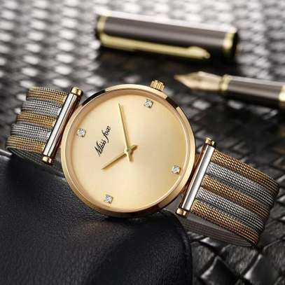 Missfox Ladies Ultra Thin Waterproof Watch image 1
