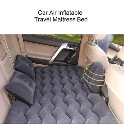 Car Travel Inflatable Mattress Air Bed image 3